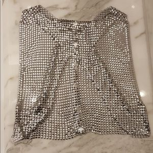 Paco Rabanne chainmail vest